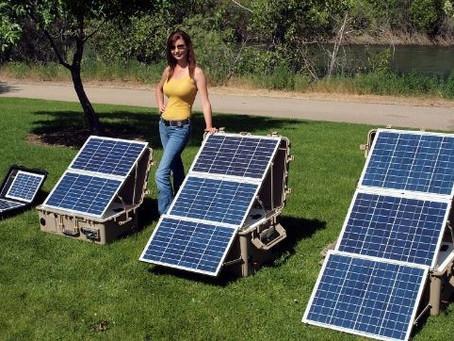 Las ventajas de usar un generador solar