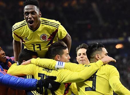 Gana Colombia 3 a Francia 2 en Paris
