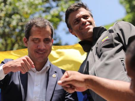 Guaidó y Lopez se levantan junto al pueblo venezolano