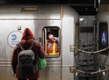 Por primera vez en la historia se cierran las 172 estaciones del Subway en New York City