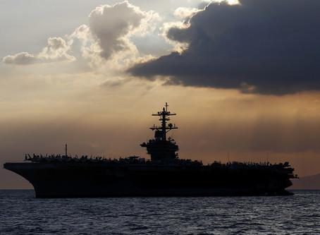 Portaaviones de la US Navy pide ayuda para traer a mas de 100 tripulantes infectados con COVID-19