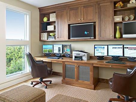 Cómo mantener la cordura cuando   trabajas en casa con tu cónyuge