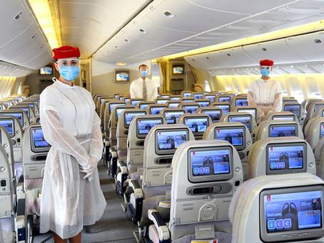 Emirates, la primera aerolínea en hacer test rápidos a todos sus pasajeros