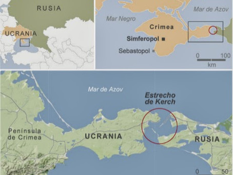 Putin inaugura puente de 19 kilómetros que une Crimea con Rusia
