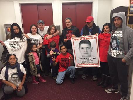 Mi hijo es tu hijo y Tu hijo es mi hijo: Ayotzinapa investigation must continue by the GIEI Antonio