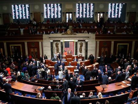 Juicio político a Trump, Cámara de Representantes aprueba resolución para iniciarlo
