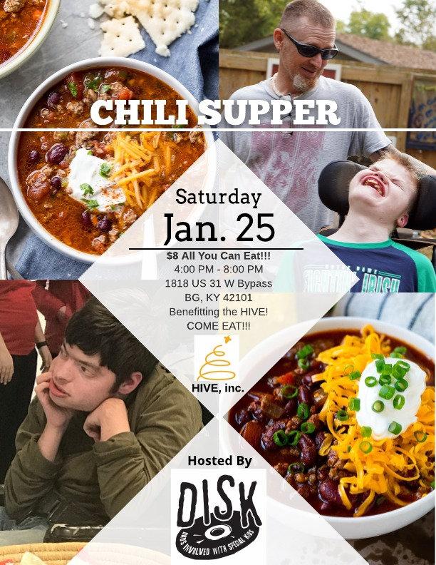 Chili Supper Fundraiser