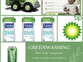 Greenwashing : How Large Corporations Attempt to Appear Sustainable