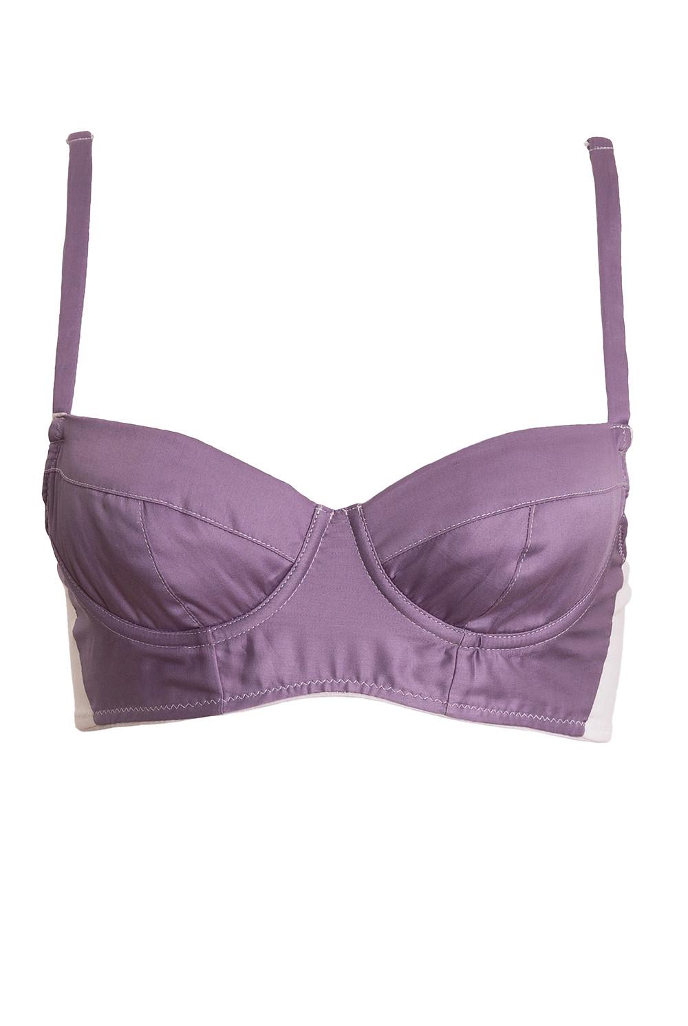 Organic cotton bra