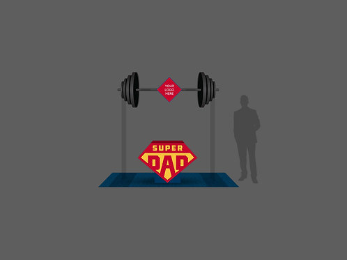 Super DAD with Barbell