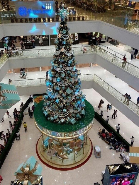 SM Megamall Christmas Tree