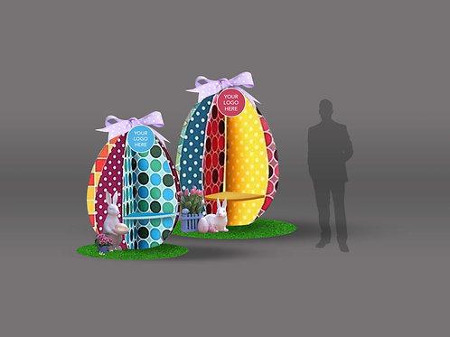Artsy Easter eggs