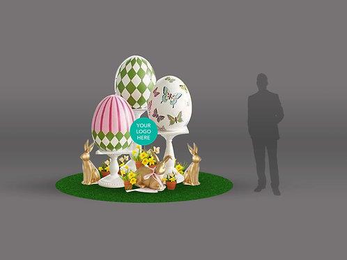 Garden Easter Eggs