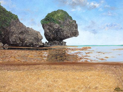 Magpupungko Rock