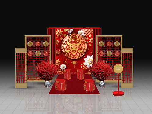 Chinese New Year Set Up Option A