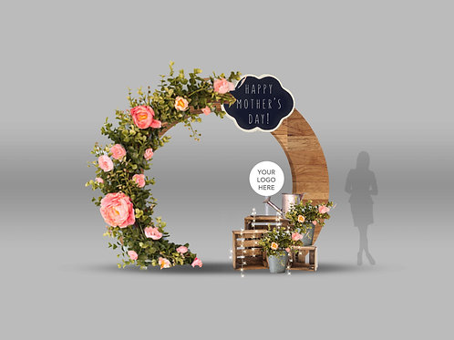 Mother's Day Flower Arch
