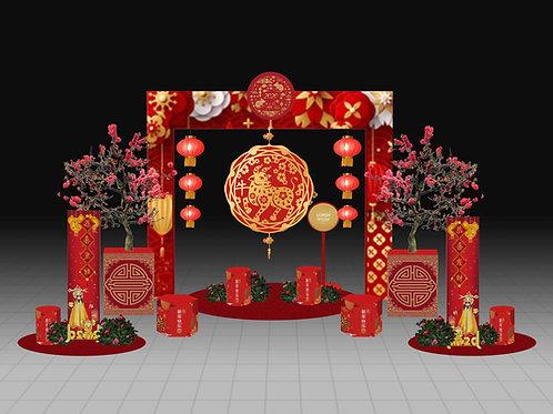 Chinese New Year Set Up Option B