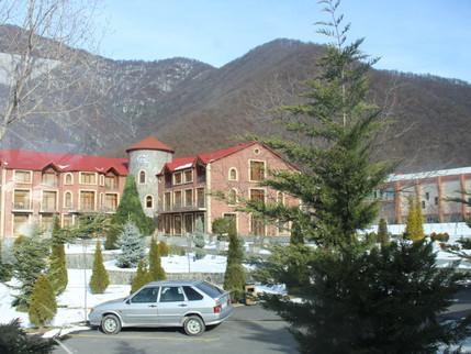 """""""El Resort"""" или вид на """"Швейцарские Альпы"""" в Гахе..."""