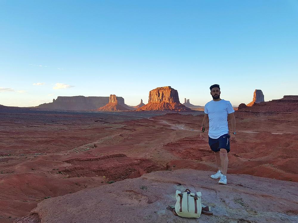 J.Ford point uno dei punti panoramici della Valley