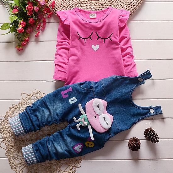 Sleeping Beauty Set-Pink