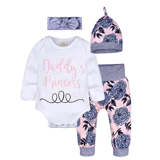 """Daddy's Princess"" - 4 Piece Set"