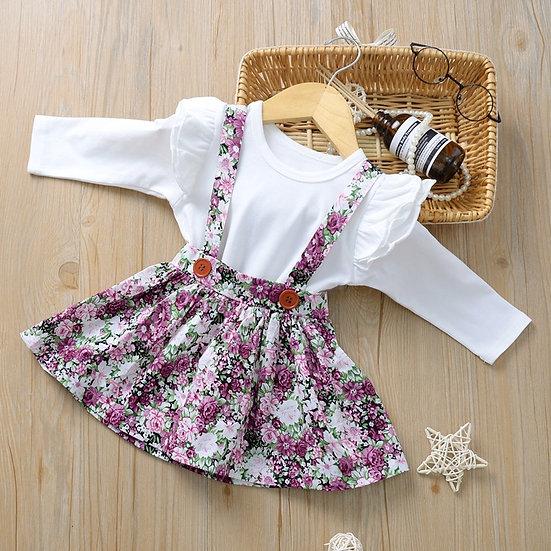 Wild Flower Skirt & Bodysuit