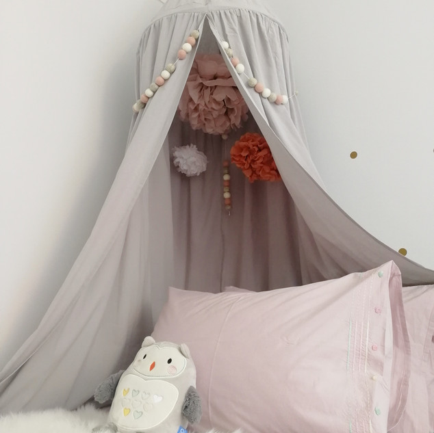 Childrens canopy bedroom design
