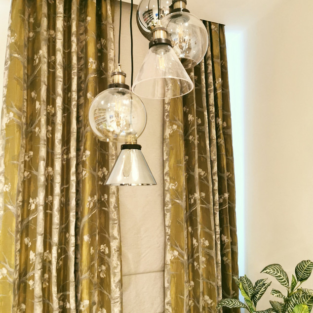 Bespoke curtains and blinds
