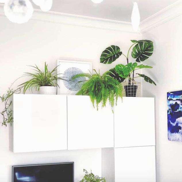 living room storage design