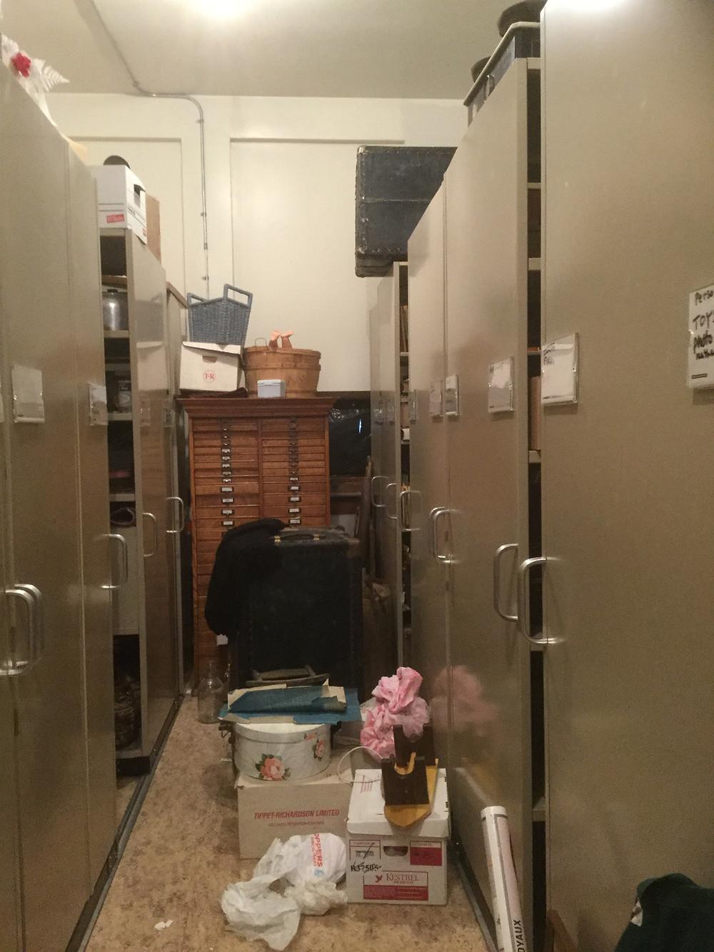 Storage Room, November 2016