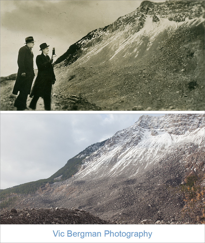 The Frank Slide on Canadian Snapshots