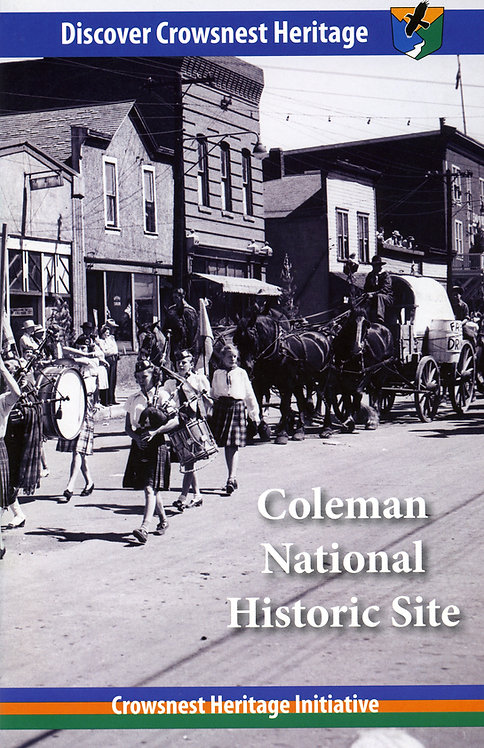 Coleman National Historic Site Booklet