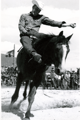 Coleman Cowboy on Horse - GUSHUL