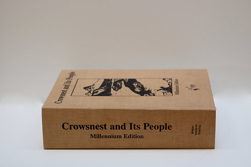 Crowsnest and Its People (Millennium Edition)