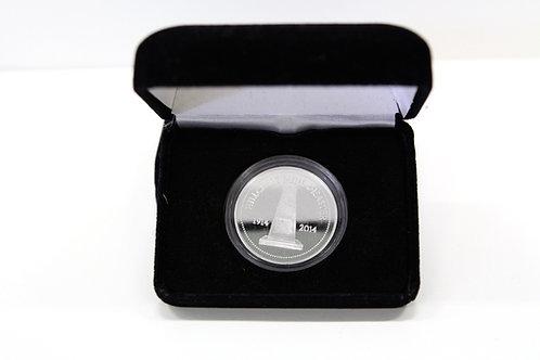 Silver Hillcrest Commemorative Coin