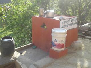 Momentum for Total Sanitation in Serala Gaun village