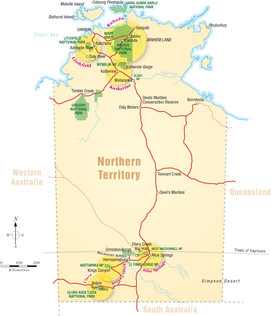 National Parks - Northern Territory