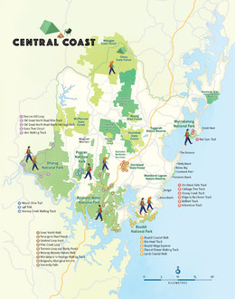 National Parks and Bushwalks
