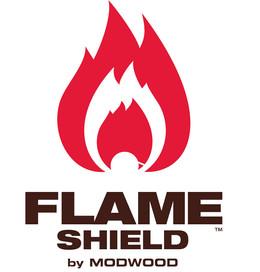 Flame Shield Logo Design