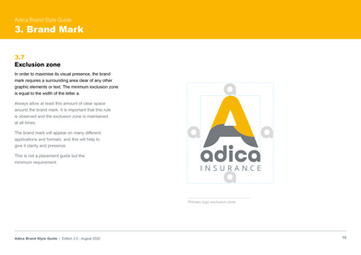 Adica Style Guide
