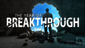The Year of Breakthrough