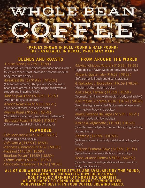 Whole Bean Coffee Menu.png