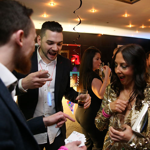 Kent Close-up magician for hire in Thanet, Kent