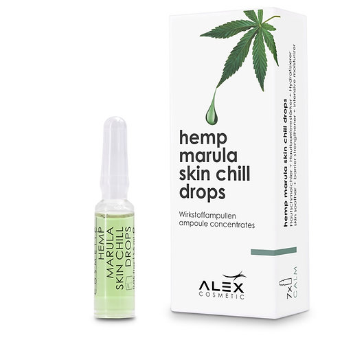 hemp marula skin chill drops [7ER SET] [10.5ml]
