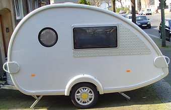 photo of camping trailer