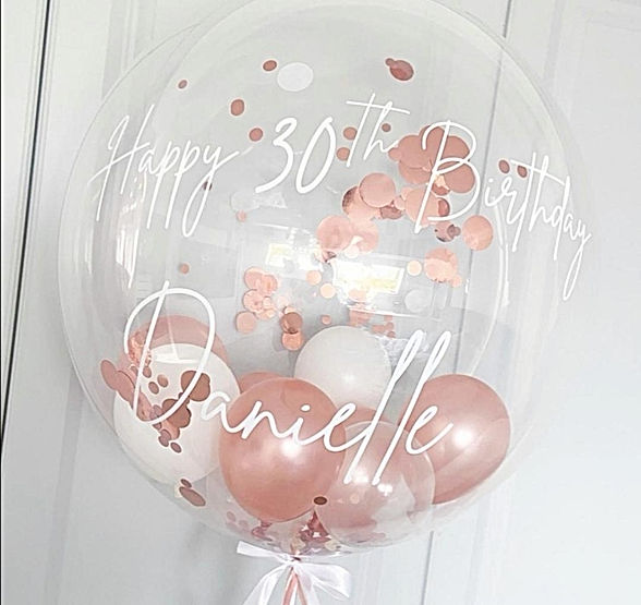 Ballon helium personnamisable