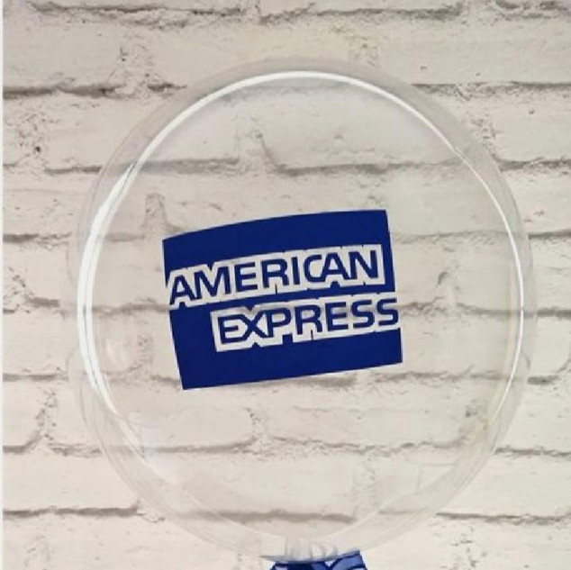 Ballons hélium logo d'entreprise