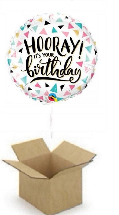 HOORAY IT'S YOUR BIRTHDAY