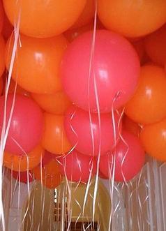 Plafond de ballons hélium