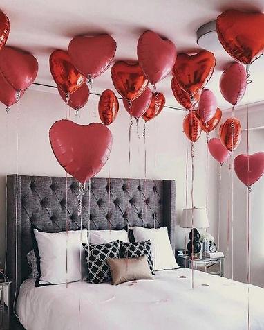 Décorations ballon hélium Saint Valentin Paris